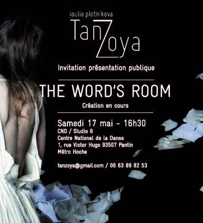 Invitation Tanzoya 17 mai